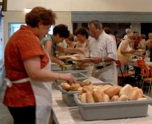 Meal Sainte Anne de Prescott community centre